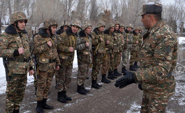 Զինված ուժերի  2-րդ զորամիավորումը  բերվել է մարտական պատրաստականության բարձր աստիճանի