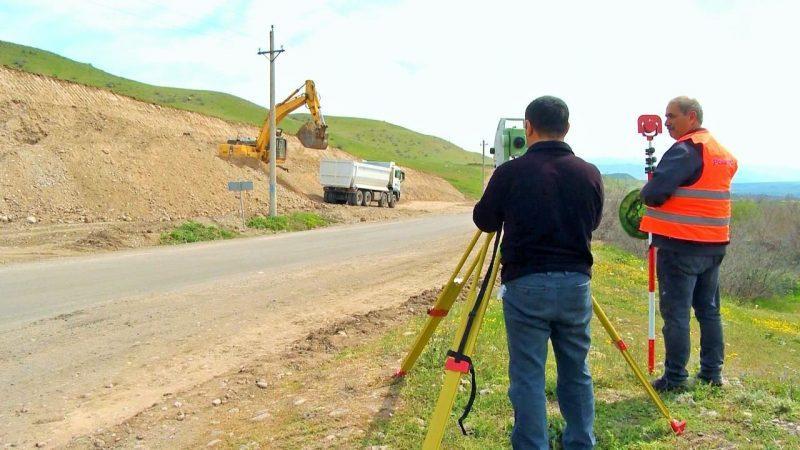 ՖՈՏՈ. Ադրբեջանն սկսել է Խուդաֆերին-Որոտան-Բերձոր ավտոճանապարհի կառուցումը