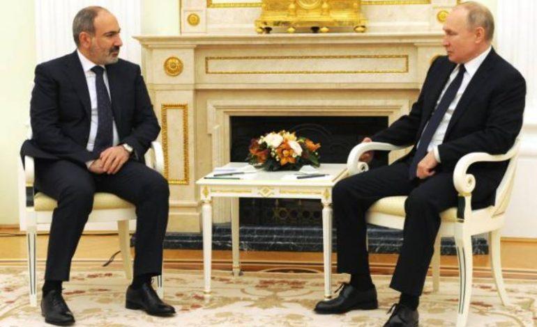 Շատ ուրախ եմ, որ Ադրբեջանում պահվող հայ գերիները հարցը լուծելու առումով տարընթերցումներ չունենք. Փաշինյանը՝ Պուտինի հետ հանդիպմանը