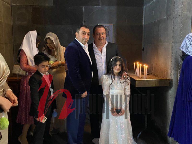 Էքսկլյուզիվ լուսանկարներ Ավետիսյանի դստեր և Ծառուկյանի որդու հարսանիքից