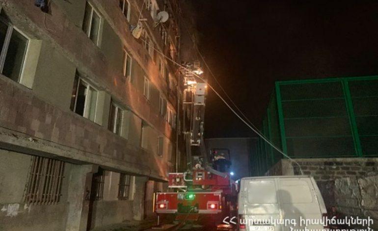 50 բնակիչ  է տարհանվել. գիշերը հրդեհ է բռնկվել բնակելի շենքում. կան տուժածներ