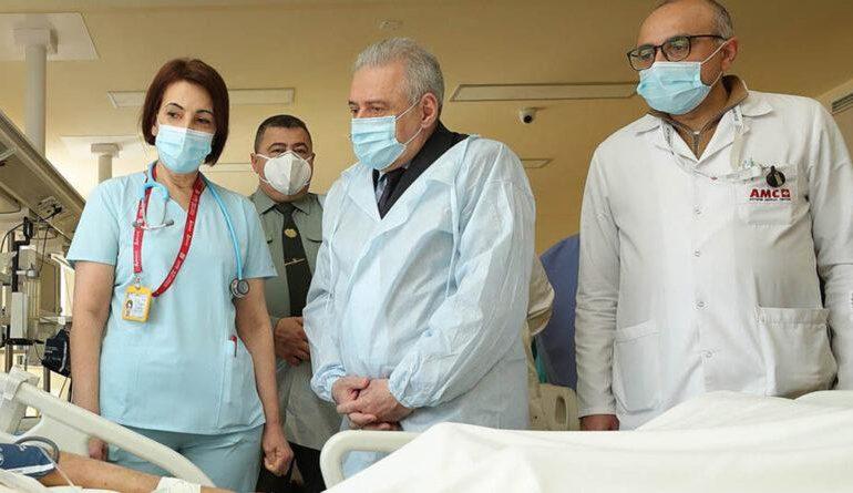 Ինչո՞ւ էր Պաշտպանության նախարարն այցելել «Աստղիկ» բժշկական կենտրոն