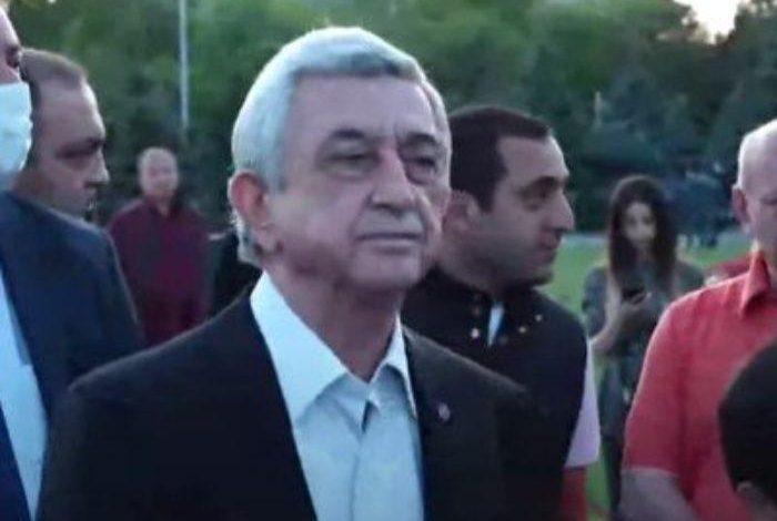 Սերժ Սարգսյանն այսօր նամակ է հղել Ամերիկայի Միացյալ Նահանգների նախագահ Ջո Բայդենին