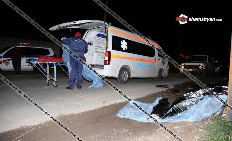34-ամյա վարորդը ոչ սթափ վիճակում վրաերթի է ենթարկել ՀՀ ՊՆ 6 ծառայողի, 2-ը տեղում մահացել են, 4-ը տեղափոխվել են հիվանդանոց