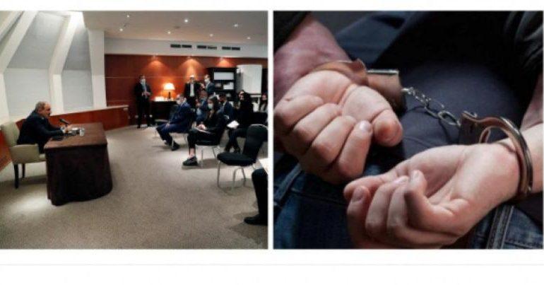 Փաշինյանի ու հայ փաստաբանների հանդիպման ժամանակ 14 հոգի է ձերբակալվել, այդ թվում՝ կանայք․ ArmDaily.am
