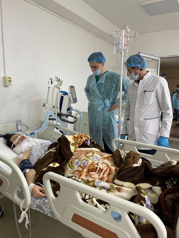 Մոսկվայից ժամանած բժիշկները Արթմեդում վիրահատեցին պատերազմից տուժածներին