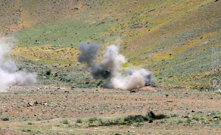 Հայտնաբերված հետախուզական և հարվածային միջոցները ոչնչացվել են մարտական կրակով