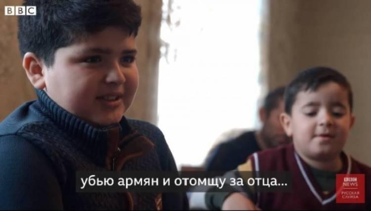 Ադրբեջանցի երեխան պատմում է, թե ինչպես է երազում մեծանալ ու սպանել հայերին