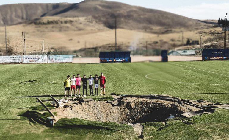 ՖՈՏՈ. Ինչպիսի տեսք ունի Արցախի հայտնի մարզադաշտը հիմա. Այն վերաբացվել է