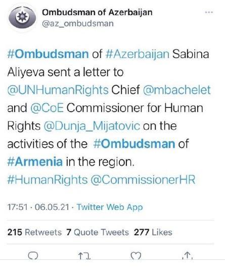 ՖՈՏՈ. Ադրբեջանն արշավ է սկսել ընդդեմ Արման Թաթոյանի՝ նրան մեղադրելով հակաադրբեջանական գործունեության մեջ