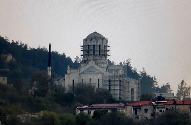 Շուշիի Սուրբ Ղազանչեցոց եկեղեցու գմբեթը չկա․ Ո՞րն է Ադրբեջանի նպատակը