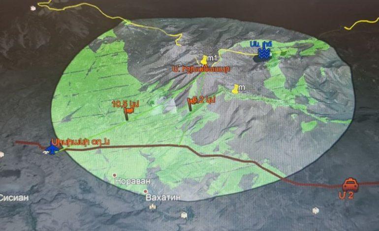ՖՈՏՈ. Նկարներում պատկերված է Իշխանասարի տարբեր կետերից անզեն աչքով 10 կմ շառավղով տեսանելիությունը. Ղարամյան