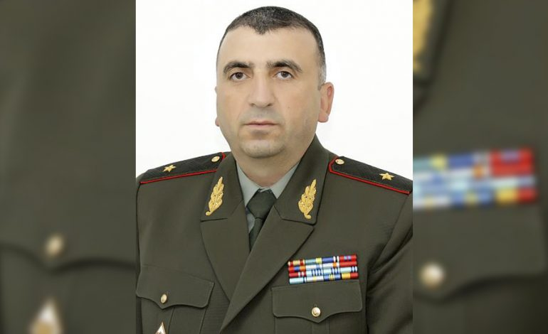 Կարեն Աբրահամյանն ազատվեց ԳՇ պետի տեղակալի պաշտոնից