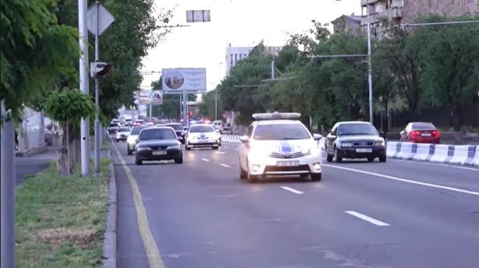 ՏԵՍԱՆՅՈՒԹ․ Սերգեյ Լավրովի ավտոշարասյունը Երևանում