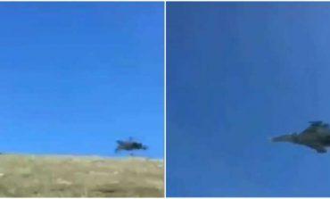 «Սու-30ՍՄ կործանիչն է թռչում Սև լճի վրա. նպատակը ո՞րն է»