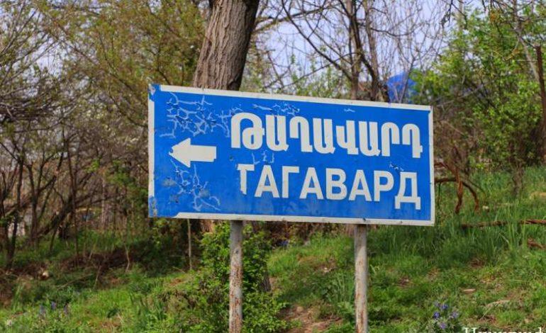 Արցախի Թաղավարդը 2020թ. պատերազմի հետևանքով բաժանվել է 2 մասի, գյուղի մեջ մի կողմում հայերն են, մյուս կողմում' ադրբեջանցիները