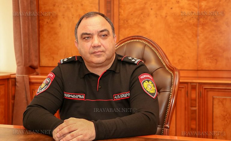 ՀՀ ոստիկանությանը հրամաններ է ստորագրել