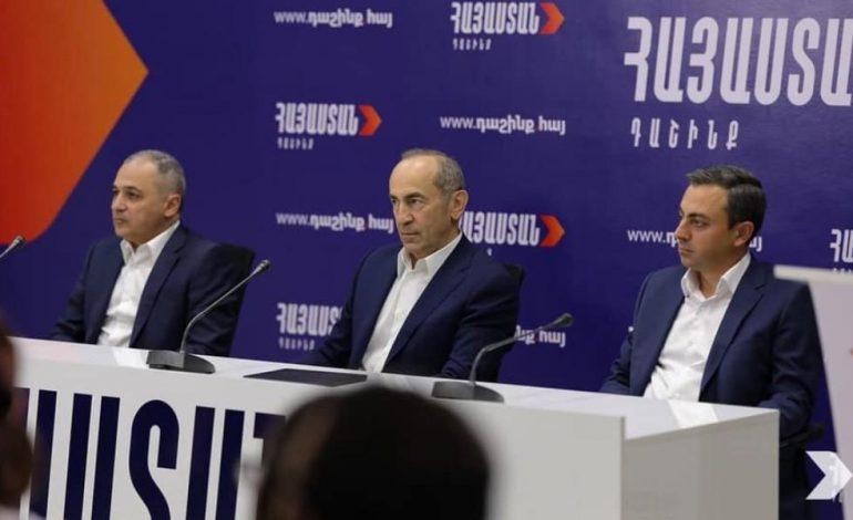 Блок «Армения»: Власти продолжают преследования в отношении наших представителей