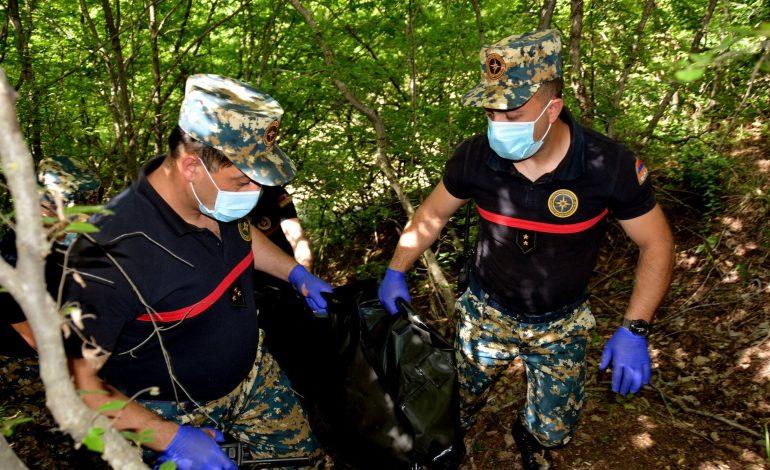 Զինծառայողների աճյուններ են հայտնաբերվել