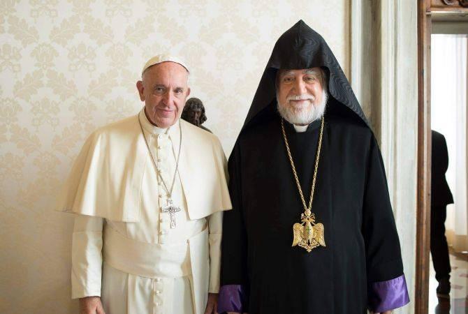 Արամ Ա Կաթողիկոսն ու Հռոմի պապը Վատիկանում ելույթ կունենան հոգևոր պետերի հանդիպմանը