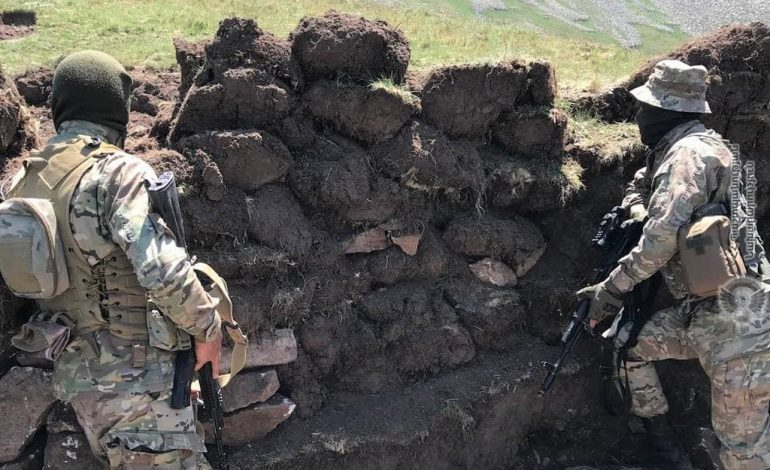 В результате перестрелки легкие ранения получили трое армянских солдат