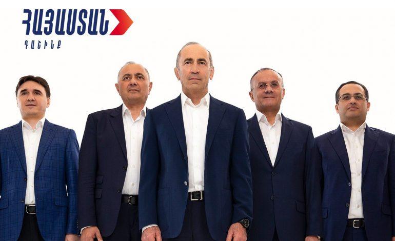 Ո՞վ կլինի «Հայաստան» դաշինքի խմբակցության ղեկավար