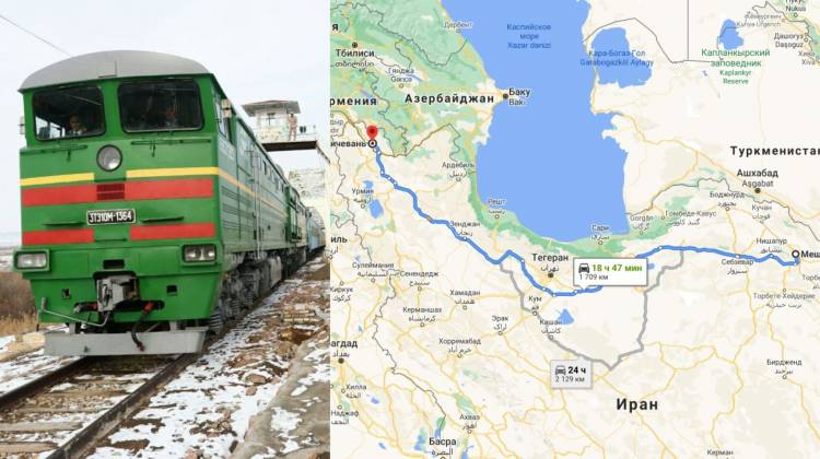 Իրանցի և ադրբեջանցի պաշտոնյաները քննարկել են Նախիջևան-Մաշհադ երկաթգծի հարցը