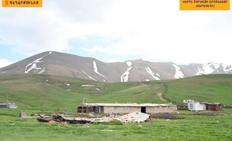 На участке Верин Шоржа азербайджанские военнослужащие открыли стрельбу