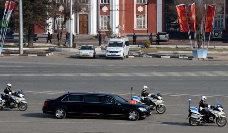 Վթարի է ենթարկվել Ղրղզստանի նախագահի ավտոշարասյունը