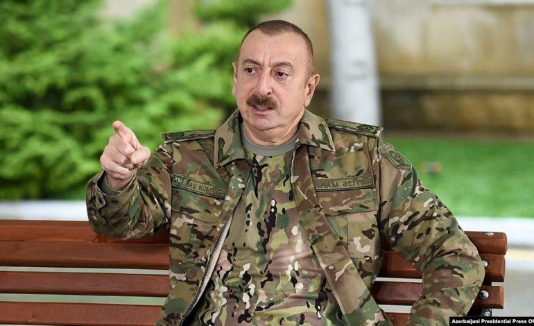 «Հայաստանի իշխանությունները բարձր մակարդակով հայտարարում են, որ այդ տարածքները Ադրբեջանինն են». Ալիև