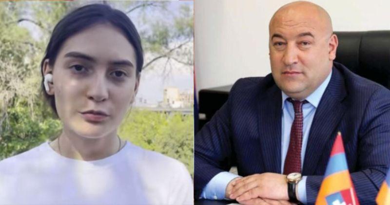 ВИДЕО: Дочь арестованного мэра города Каджаран обратилась к международному сообществу