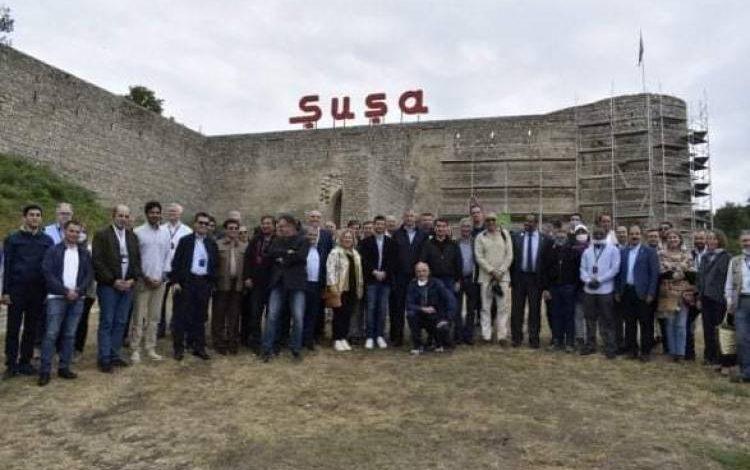 Որ երկրների դեսպաններն են այցելել Արցախի գրավյալ Շուշի քաղաք