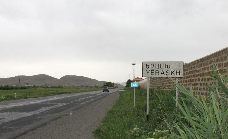 Азербайджан с полудня 6 августа обстреливает позиции Армении на участке Ерасха
