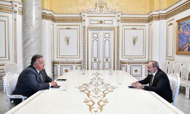 Пашинян и Афеян обсудили программы правительства РА и совместные программы по развитию Армении