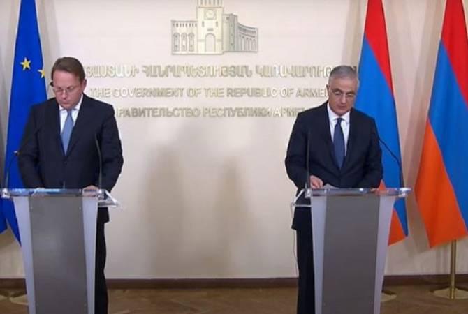 Եվրամիությունը եղել և մնում է Հայաստանի առանցքային գործընկերներից մեկը. Մհեր Գրիգորյան