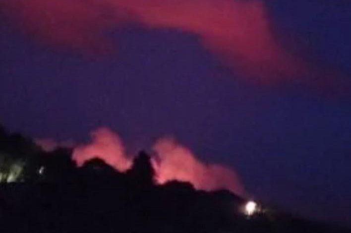 Սահմանամերձ Կոթի համայնքի   ողջ երկայնքով գիշերը հրդեհ է բռնկվել․ կրակը հասել է ադրբեջանական դիրքերին