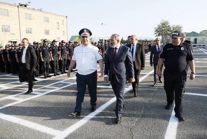 Патрульная служба должна представить на улицах Еревана новое качество порядка: Никол Пашинян