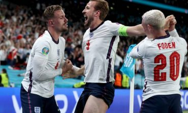 Англия впервые вышла в финал чемпионата Европы