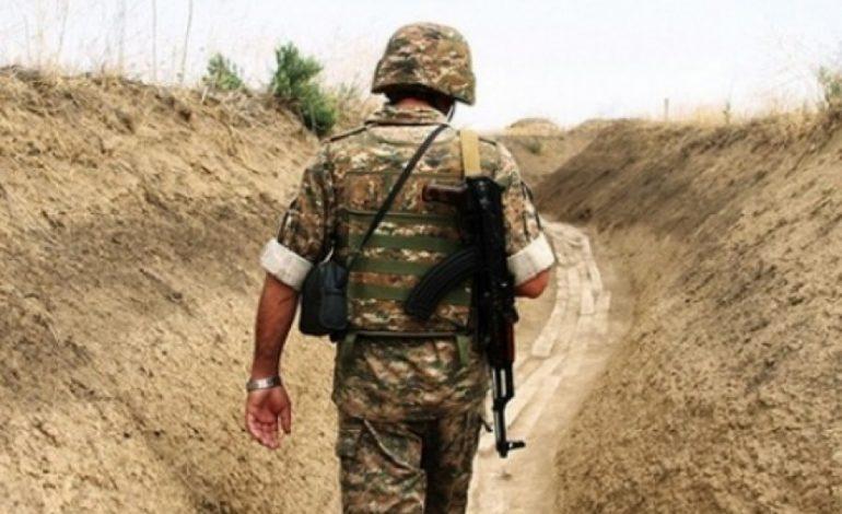 По предварительной информации, старший лейтенант заблудился и оказался на азербайджанской стороне: Министерство обороны