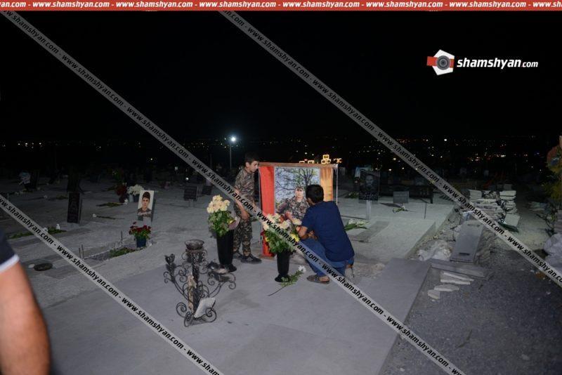 ՖՈՏՈ. Վանդալիզմ՝ Եռաբլուրում. քանդել են Հայաստանի և Արցախի ազգային հերոսի գերեզմանը