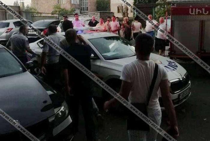 ՖՈՏՈ. Քիչ առաջ արտակարգ դեպք է տեղի ունեցել Երևանում