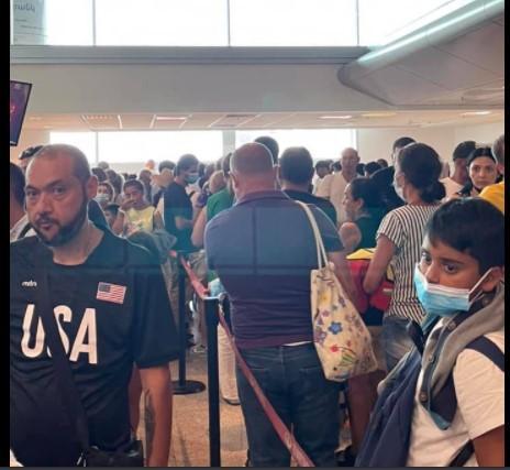 «Անհաշտ» պայքար  «Զվարթնոց» օդանավակայանում․ ինչ է պատմում առավոտյան օդանավակայանում ներկա գտնված իրավապաշտպանը