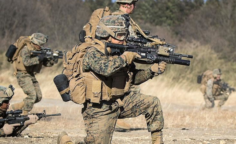 Ամերիկացի զինվորականները գրոհել են ահաբեկիչների դիրքը Դեր Զորում