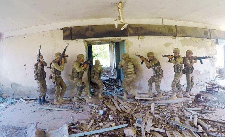Ադրբեջանի բանակի հատուկջոկատայինները մարտավարական հատուկ վարժանքներ են սկսել