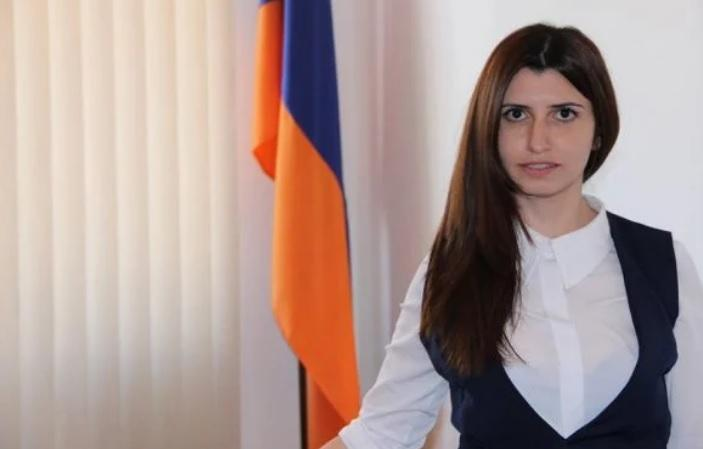 Ծովինար Խաչատրյանը` Ազգային ժողովի նախագահի մամուլի քարտուղար