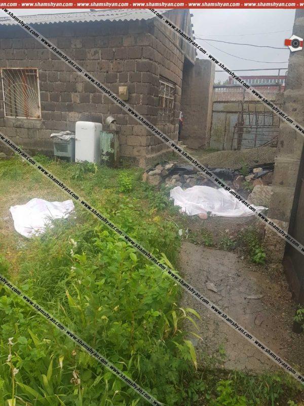 ՖՈՏՈ. Ողբերգական դեպք՝ Շիրակի մարզում․ սեփական տան բակում հայտնաբերվել են երիտասարդ ամուսինների դիերը