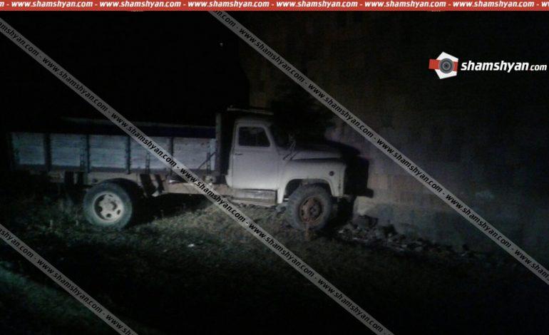 Ողբերգական դեպք. ԳԱԶ-53-ը  հայտնվել է ձորում, 14-ամյա տղան տեղում մահացել է