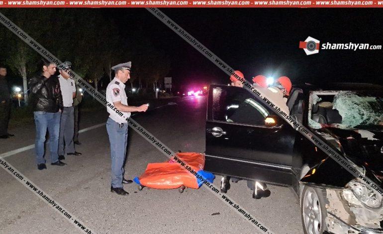 Սահմռկեցուցիչ դեպք Սևանում. Mercedes-ը վրաերթի է ենթարկել 38-ամյա հետիոտնին, ում մարմինը բաժանվել է մի քանի մասերի