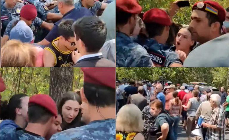 «Ֆիզգարադոկում» ոստիկաններն անհամաչափ ուժ են կիրառել, մարդկանց բերման ենթարկելիս պատճառել են վնասվածքներ, թույլ չեն տվել օգտվել զանգի իրավունքից, ոստիկաններից մեկն էլ եղել է դանակով զինված․ ՄԻՊ