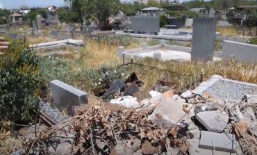 ՏԵՍԱՆՅՈՒԹ․ Քանաքեռի գերեզմանատանը բազմաթիվ գերեզմանաքարեր են ոչնչացվել